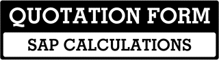 SAP Calculations Quote  For East Yorkshire